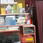 Still life painting, 2005, oil on canvas