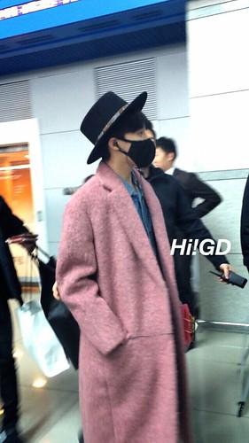 Big Bang - Incheon Airport - 21mar2015 - G-Dragon - Hi GD - 08