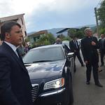 2016-08-30 - Renzi a Norcia nelle zone terremotate