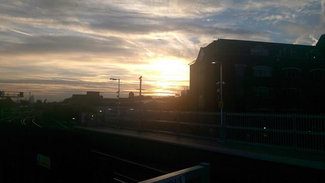 Sunrise at Clapham Junction