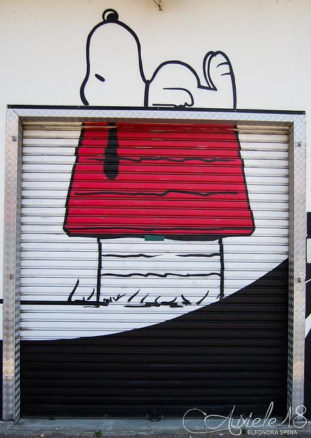 Murales Snoopy Torino.
