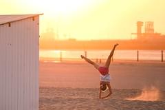 The ful Cartwheel in the Evening Sun