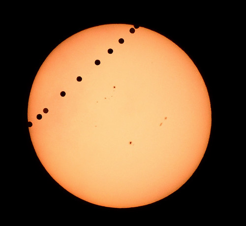 Venus Transit 2012 *corrected Field Rotation*