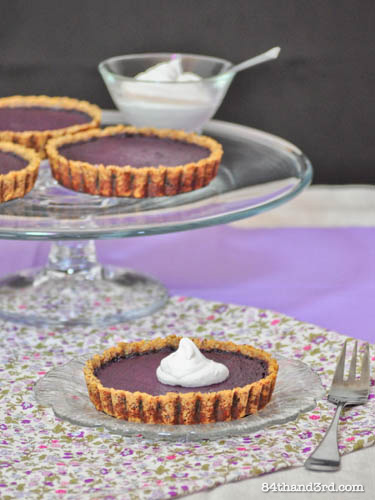 Purple Carrot Anniversary Pie