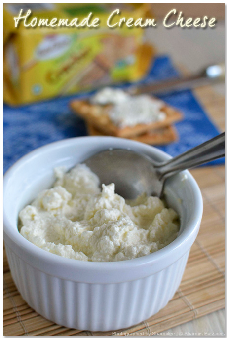 Homemade Cream Cheese Recipe