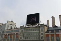 Panneau publicitaire vidéo