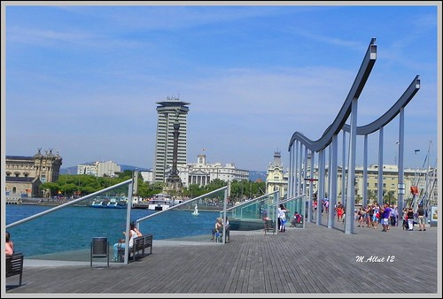 Rambla de Mar by Miguel Allué Aguilar