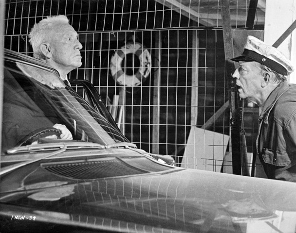 "Spencer Tracy and Buster Keaton in ""Mad World"""