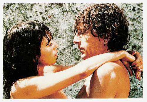 Isabelle Adjani and Alain Souchon in L'Été Meurtrier (1983)