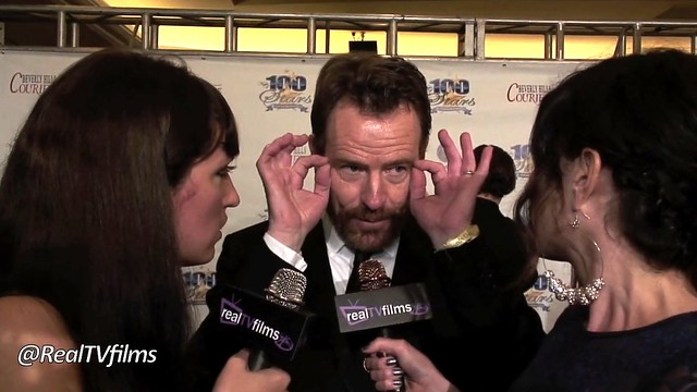 Camille Solari, Bryan Cranston , Breaking Bad AMC, Samantha Gutstadt, Night of 100 Stars 2012