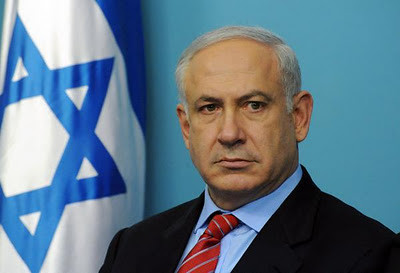 "Benjamin  Netanyahu (Hebrew: ??????????? ""????????"" ??????????? (help·info); born 21 October 1949) is the current Prime Minister of Israel. He serves also as the Chairman of the Likud Party,"