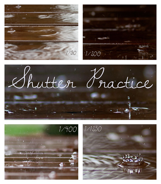 Shutter Practice Outdoors
