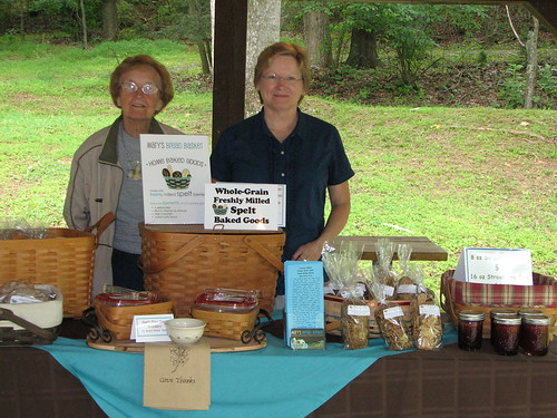 Baked Goods by Mary Fox at Fairy Stone State Park