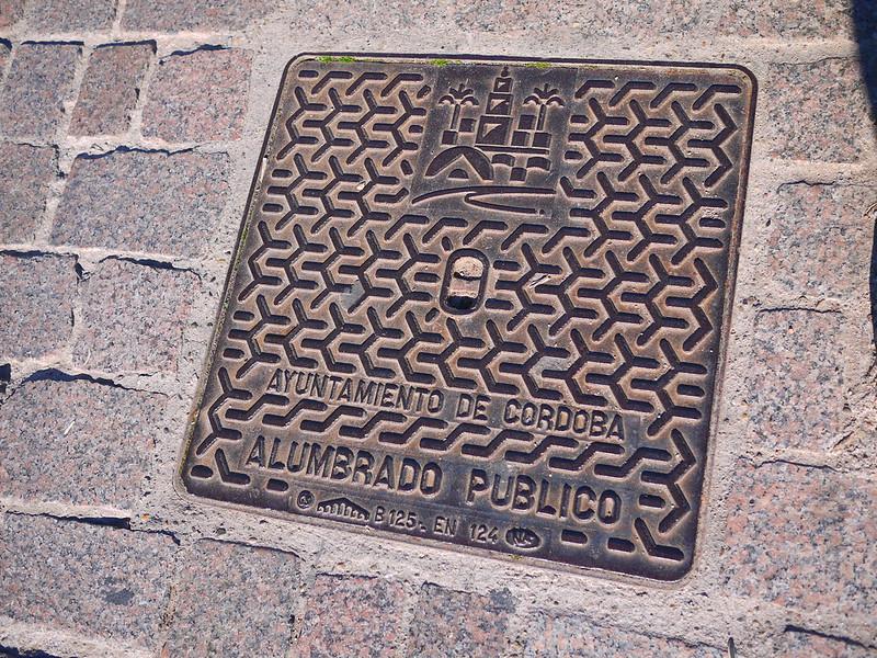 哥多華水溝蓋