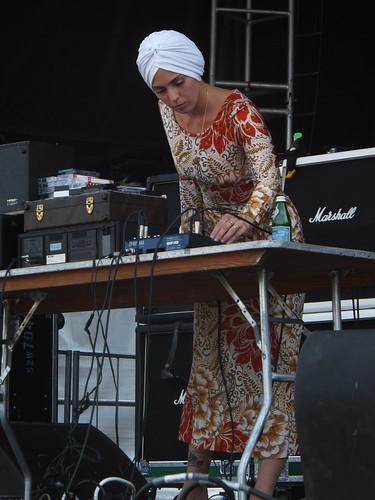 U.S. Girls at Ottawa Bluesfest 2012