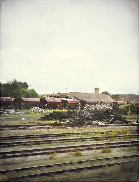 Through Argentan station