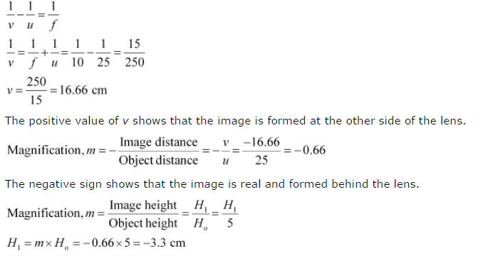 Ncert Solutions For Class 10 Science Chapter 10 Light Reflection And