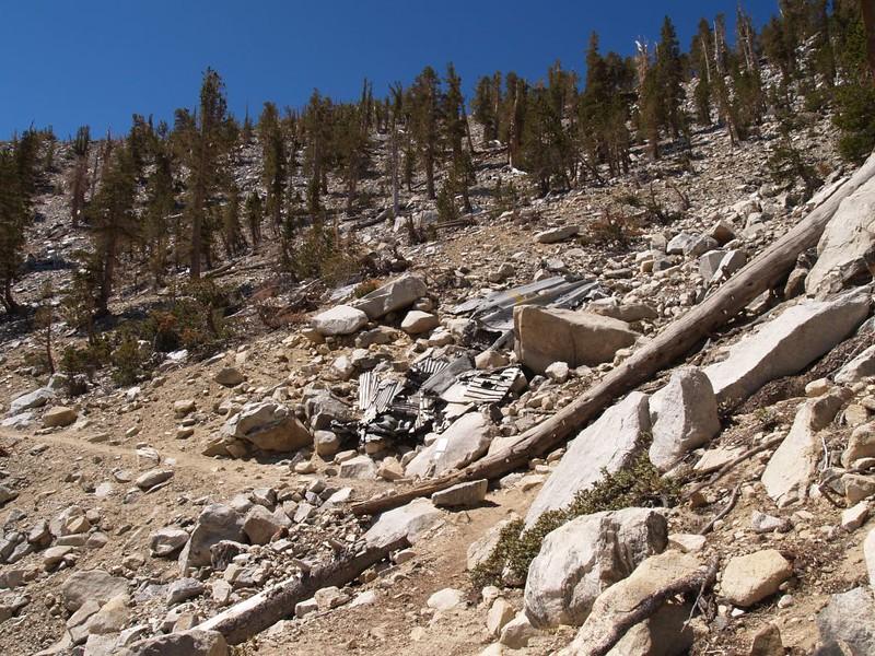 C-47 Crash Site on the Sky High Trail