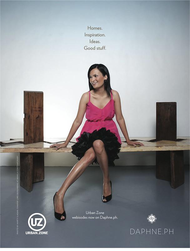 UZ Daphne Print Ad