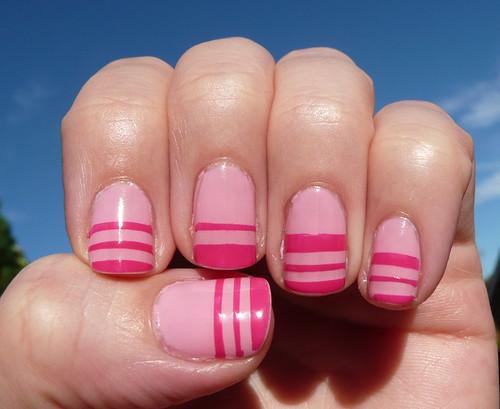 pink stripe mani3
