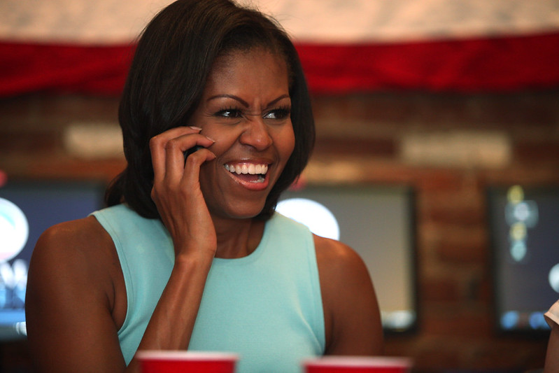 Michelle Obama in Dayton - July 24th