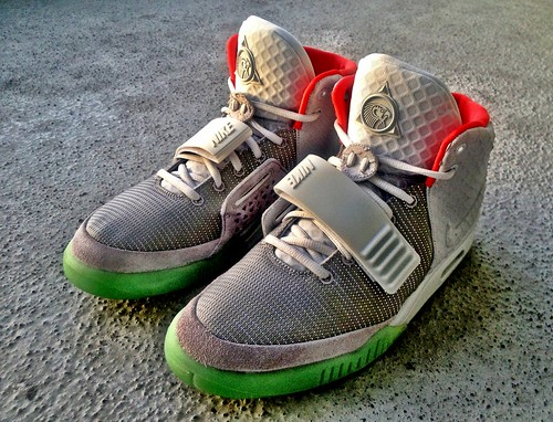 Nike Air Yeezy 2 NRG (Platinum)
