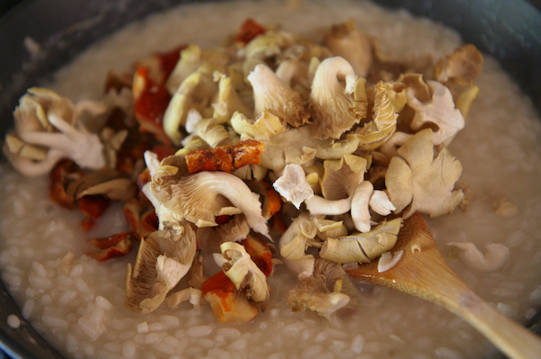 Wild Mushroom Risotto 9