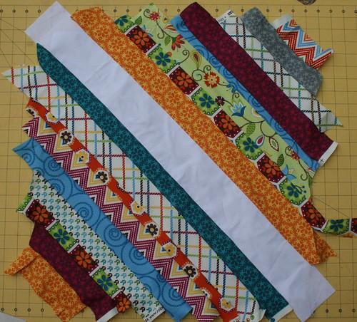 7647616174 3772e51c8d 100 Quilts for Kids QA: Assembling the String Blocks