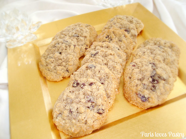 Exotic Oatmeal Cookies