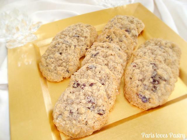 异国情调的燕麦饼干