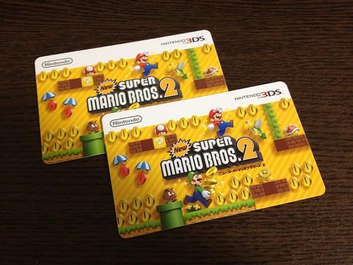 nintendo 3DS ダウンロードカード
