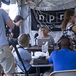 Newport Folk Fest 2012: Team FUV/NPR Music