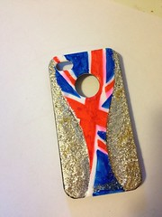 Union Jack iPhone cover after