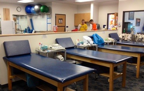 Athletic Trainers room