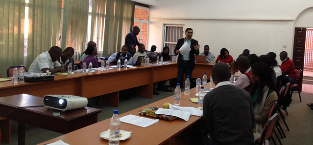 Enumerators' training at UNZA