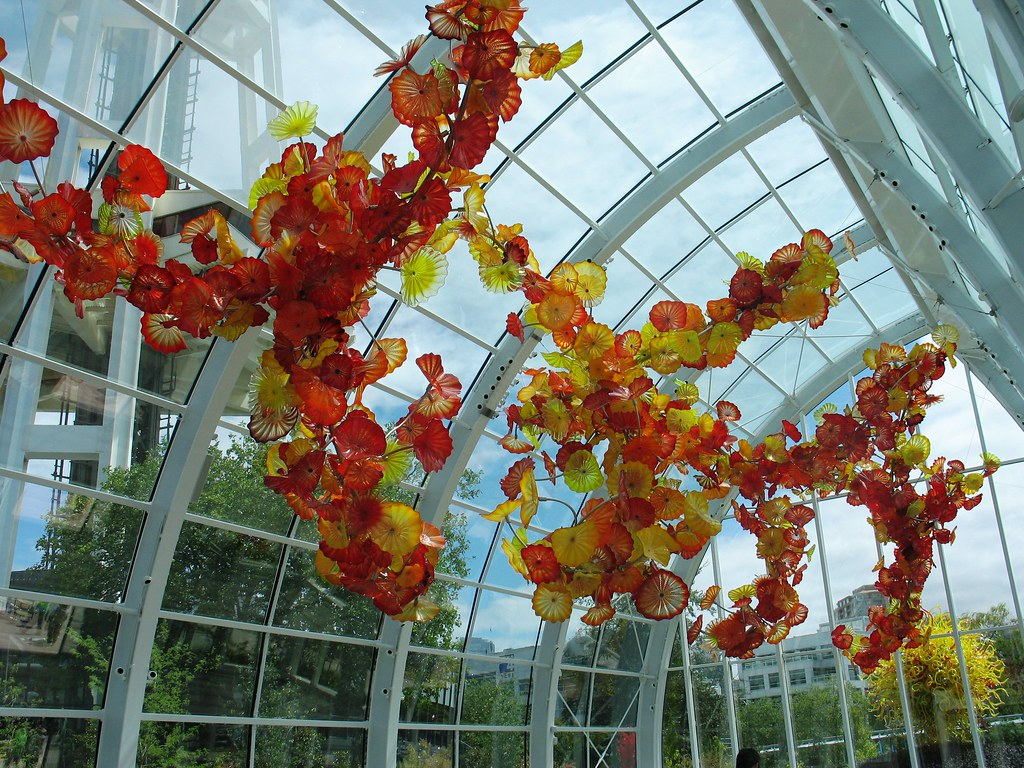Seattle 39 S New Chihuly Glass And Gardens In Photos