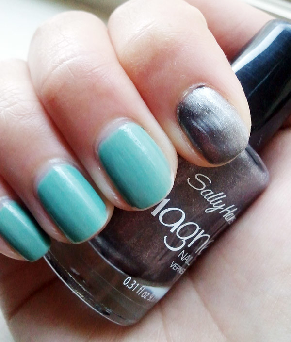 Review] Sally Hansen Magnetic Nail Art - the demure muse