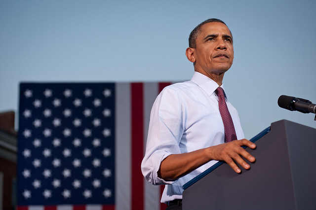 Barack Obama in Virginia - August 2nd