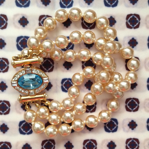 nolan miller aqua pearl bracelet