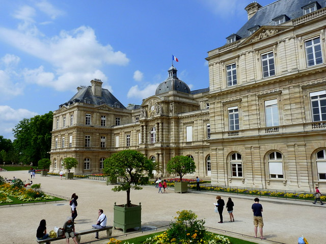 Jardin du luxembourg flickr photo sharing for Ca vient du jardin