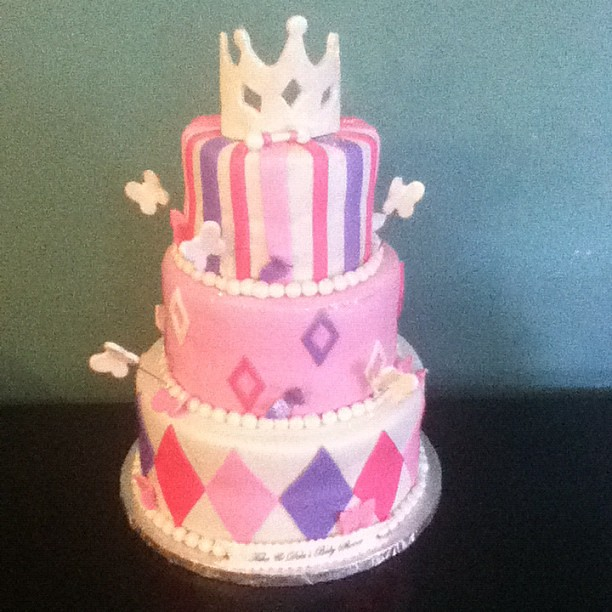 princess baby shower cake flickr photo sharing