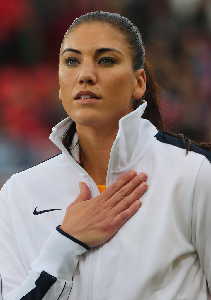 Hope Solo's Vagina here