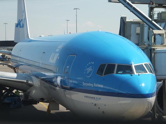 met KLM naar Vancouver