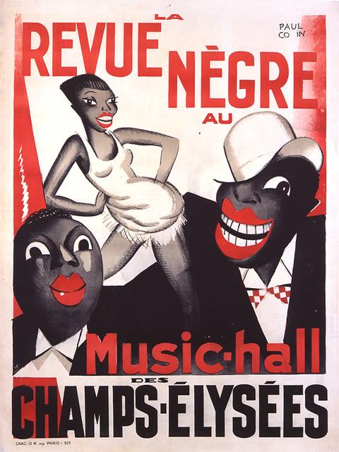 Paul Colin. Revue Negre. 1924