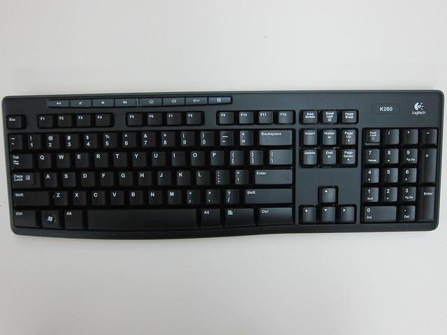 Logitech MK260 Wireless Combo - Keyboard