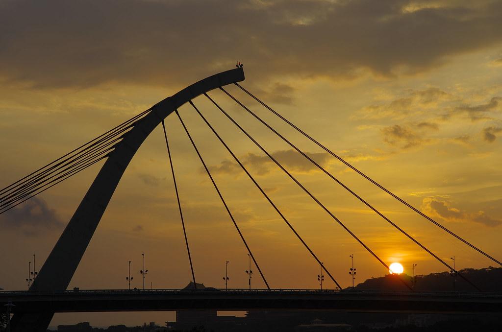 20120805 大直橋夕陽