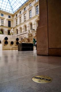 Image of Hommage à Arago. paris museum louvre musée 75001 arago jandibbets 1erarrondissement dibbets hommageàarago