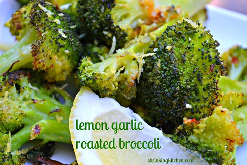 lemon garlic roasted broccoli