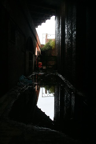 Mirrored Alleyway