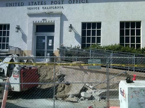 Venice Post Office Demolition
